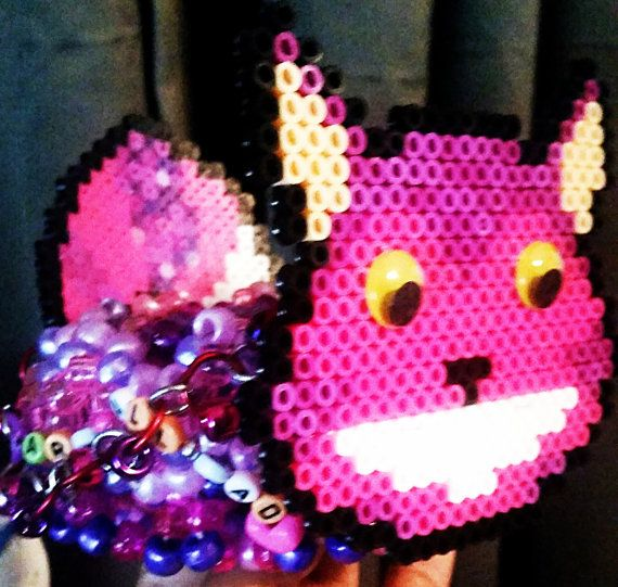 Beyond Wonderland 2015 Cat Cuff by PluristocatKandi on Etsy