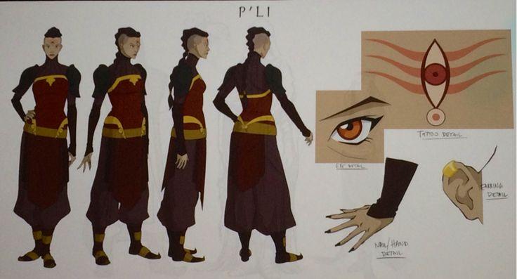 P'li cosplay ideas - tattoo and costume detail