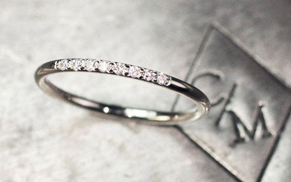 Diamant-Ring Ehering 8 ebnen Set Diamond Ring von …