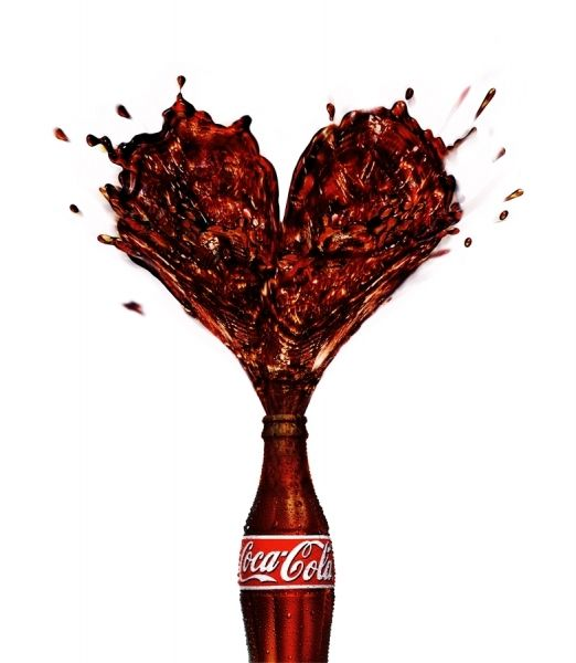 not Vintage but great ad Love Coke
