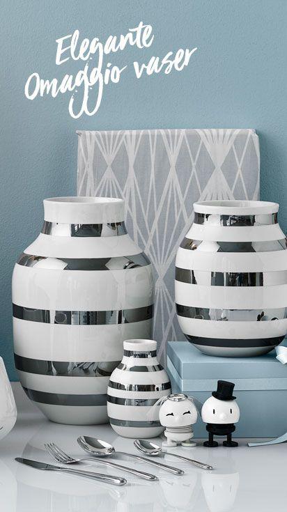 Flotte omaggio vaser fra Kähler vil passe til et hvert hjem. #Inspiration #InspirationOnline #wedding #bryllup #bryllupsgave #weddingpresent