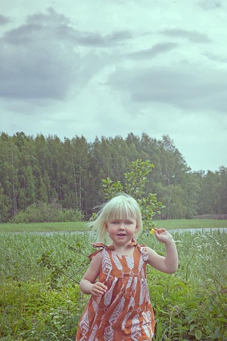 Ivana Helsinki children's summer dress