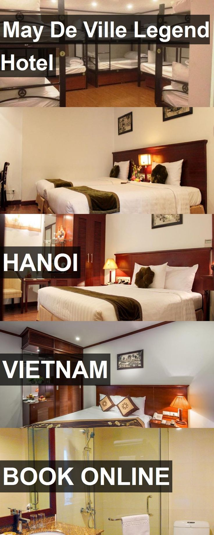 May De Ville Legend Hotel in Hanoi, Vietnam. For more information, photos, reviews and best prices please follow the link. #Vietnam #Hanoi #travel #vacation #hotel