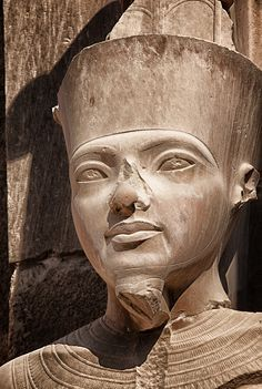 Pharaoh Statue at Karnak
