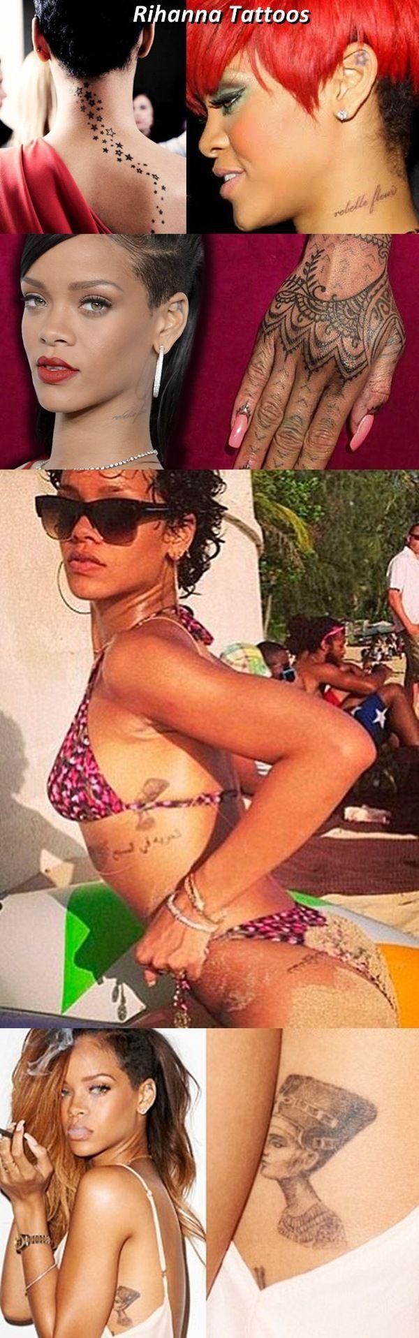 Rihanna Tattoos Collection