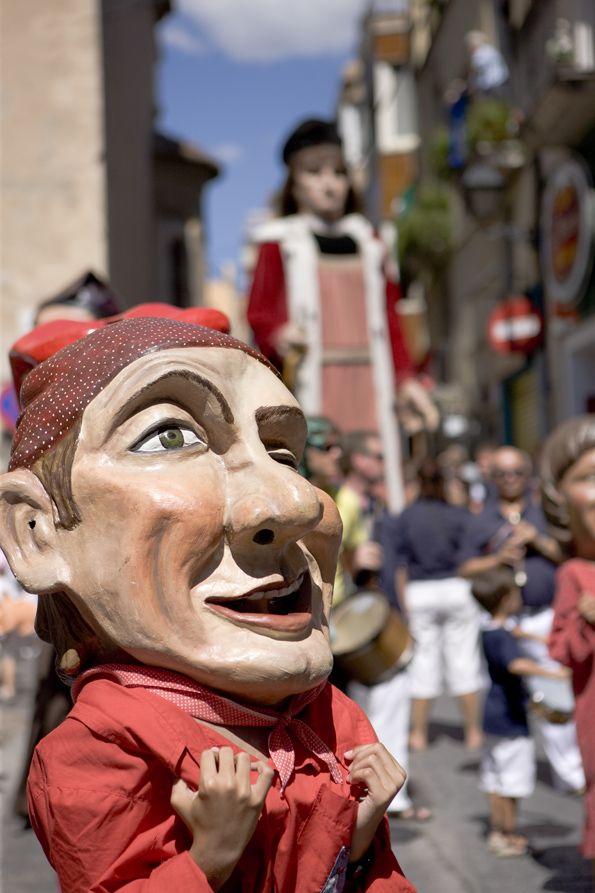 Capgròs i gegant a la Festa Major del Vendrell