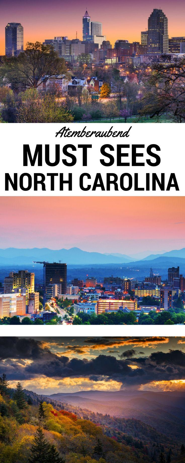 Lange Strände, schillernde Städte und bewundernswerte Berge - North Carolina ist ein Mekka für alle, die einen abwechslungsreichen Urlaub voller Action und/oder Entspannung herbeisehnen. Wir zeigen Dir, welche Vielfalt Dich in North Carolina erwartet.