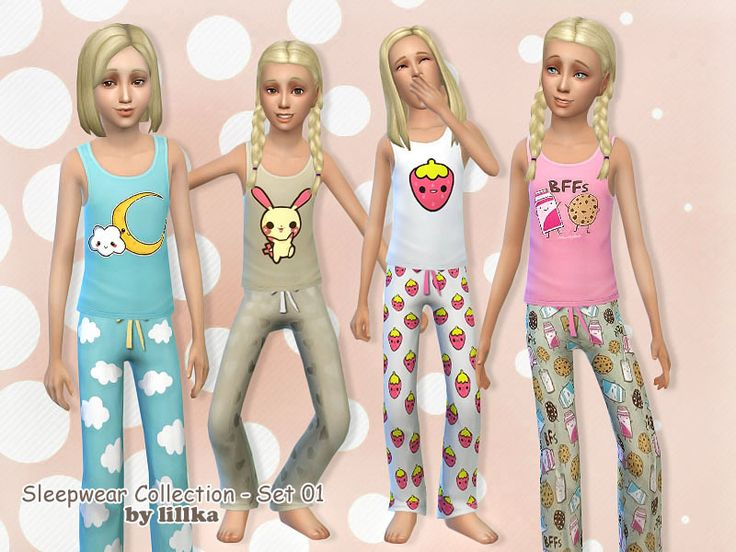 lillka's Sleepwear Collection - Set 01