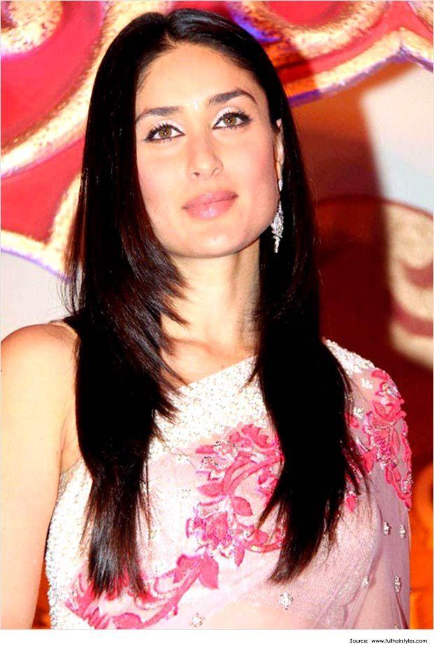 Kareena Kapoor Hairstyles for sarees