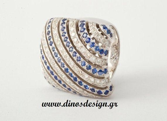 Diamond Ring. Wedding Ring. Engagement Ring. by DinosKoukiaris