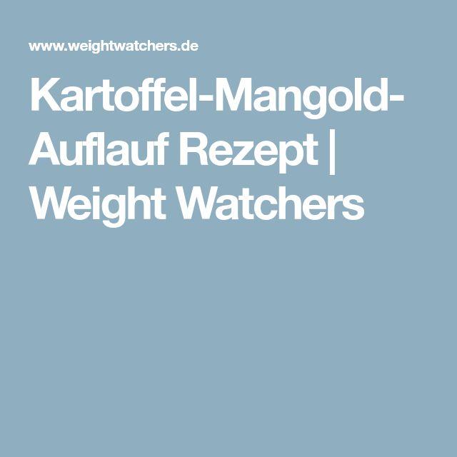 Kartoffel-Mangold-Auflauf Rezept | Weight Watchers