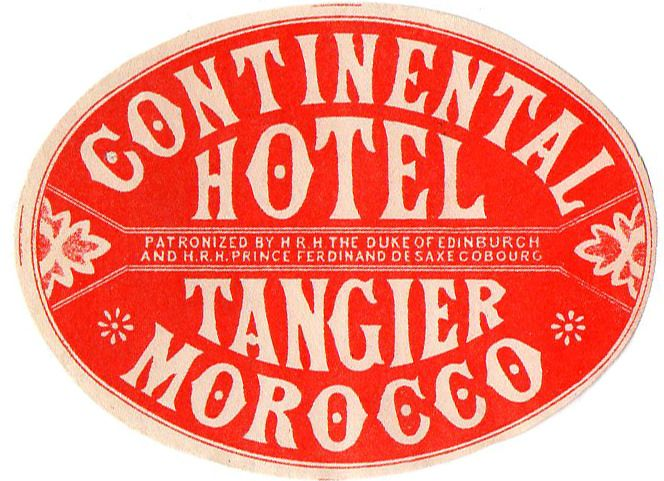 continental hotel tangier morocco