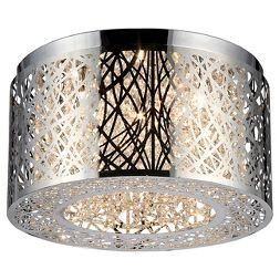 "Warehouse Of Tiffany Ceiling Lights - Chrome (17 X 17 X 9"") already viewed"