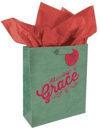 "GIFT BAG:  GRACE (GBA019). Available @ Faith4U Book- and Giftshop, Secunda, SA or email us @ ""faith4u@kruik.co.za"""