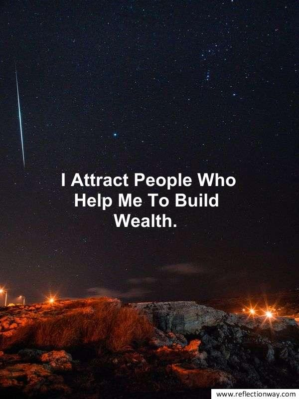 affirmation for money and wealth