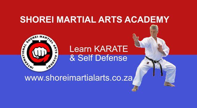 New Dimensions: Karate - Self Defense at Shorei Martial Arts Acade...News update.