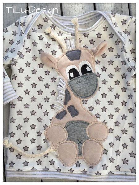 Applikationsvorlage Giraffe von TiLu-Design auf DaWanda.com