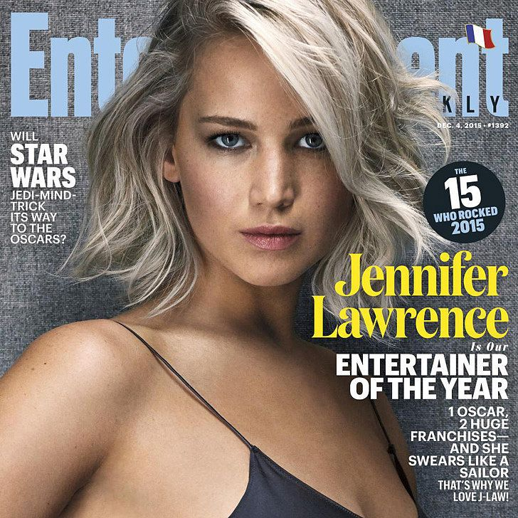 Jennifer Lawrence Is Entertainment Weekly's Entertainer of the Year, Has Zero Tolerance For Bullsh*t