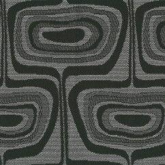 Tissu Décor Maison - Crypton Corfe 9006 Graphite