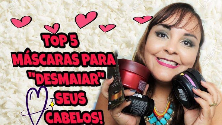 """TOP 5 DE MÁSCARAS  CAPILARES QUE """"DESMAIAM"""" OS CABELOS!"""