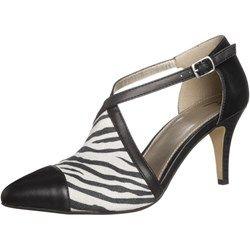 Anna Field Czółenka black/black/zebra