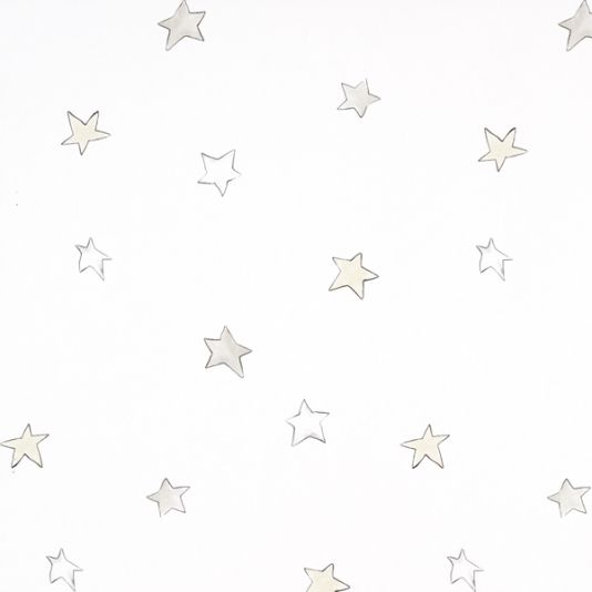 Odissey Wallpaper A Sweet With Beautifully Drawn Stars In Soft Shades Of Beige And Stone Nursery