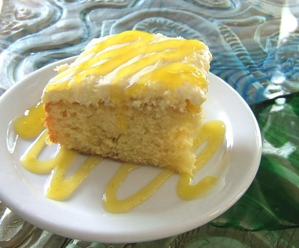 Hawaiian Pineapple Poke Cake from Food.com:   This is a delicious cake that's a little fancier that the typical poke cakes.