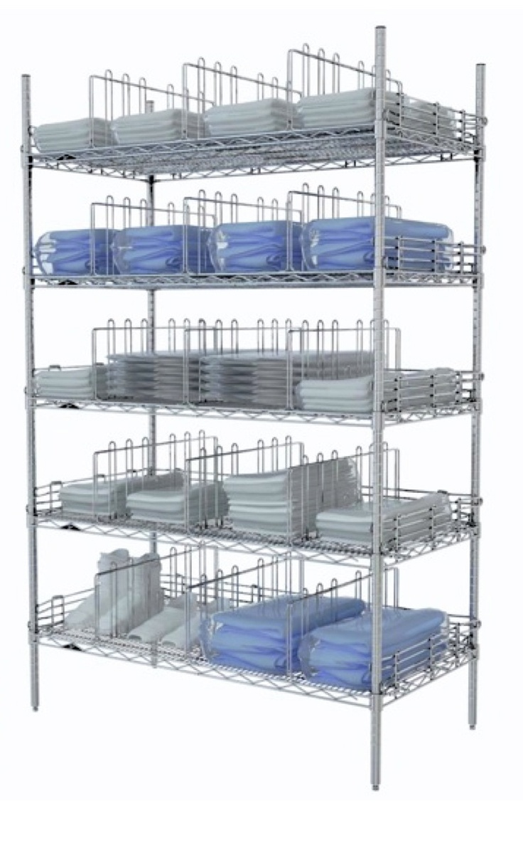 Metro Stationary Garment Storage Rack Great For Packaged