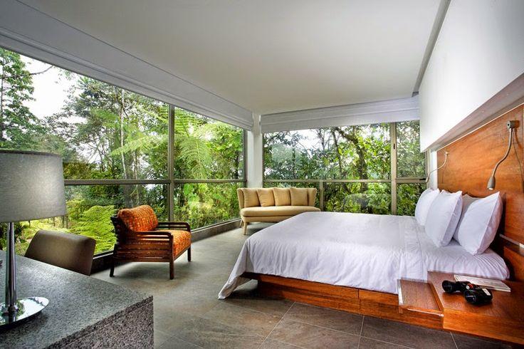 Revista Crear Ambientes: Encanto y lujo en medio del bosque nublado