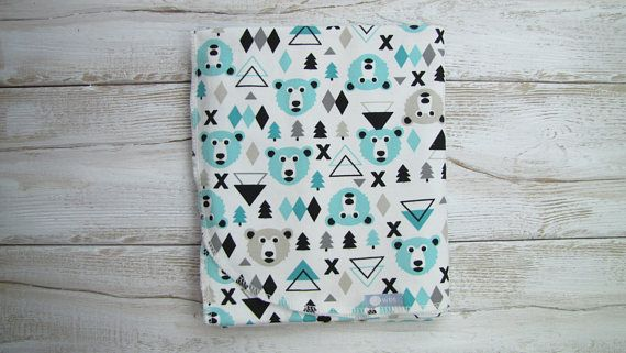 Ready to ship. Baby swaddle blanket. Baby cotton blanket. Mint