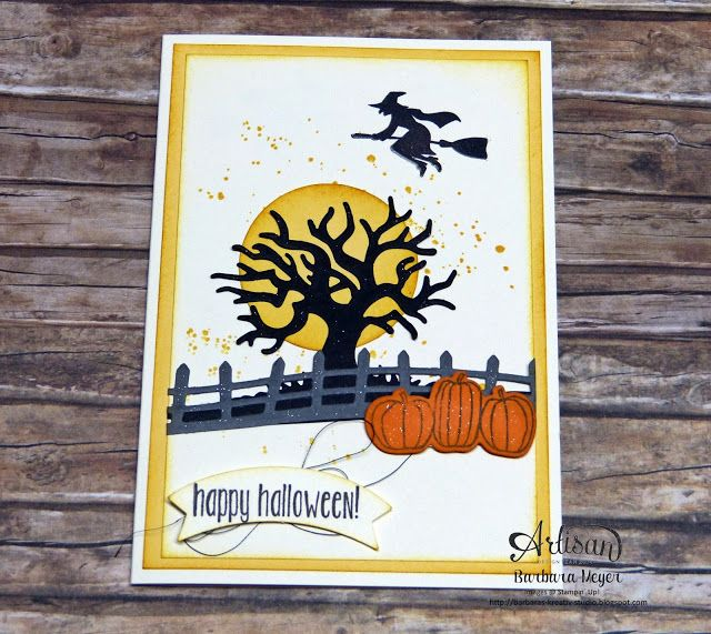 Barbaras Kreativ-Studio - Stampin'Up! Demonstratorin in Wien : Around the World Blog Tour - Spooky Fun