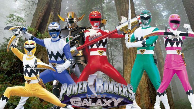 Power Rangers Lost Galaxy by Butters101 on @DeviantArt