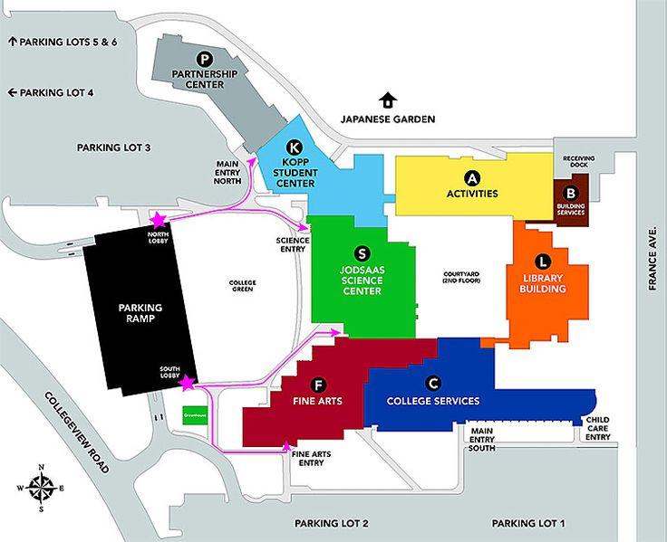 Campus Maps | Normandale Community College