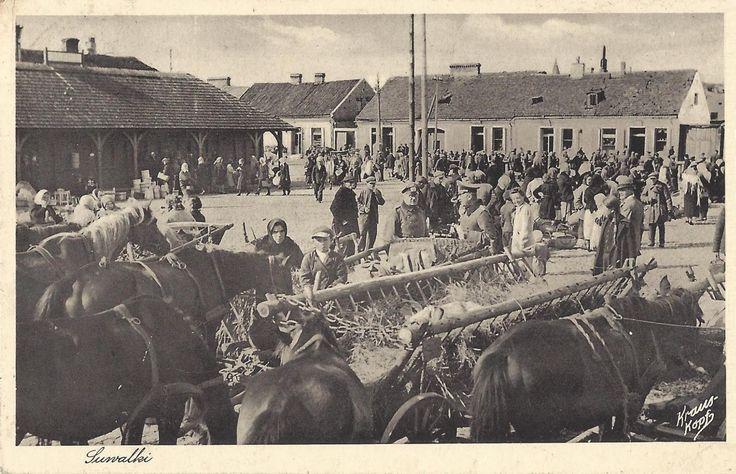 Suwałki 1942, obecnie pl. Konopnickiej