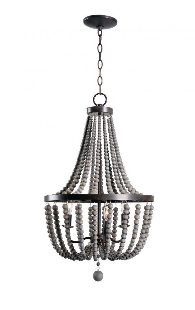 best 25 wood bead chandelier ideas on pinterest bead. Black Bedroom Furniture Sets. Home Design Ideas