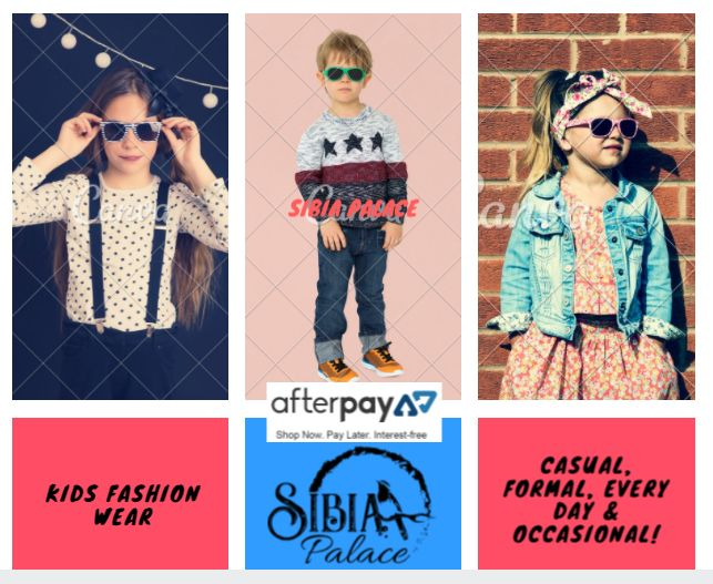Sibia Palace Is here with Most Beautiful Fashionable Clothes & Everything from Dresses, Jumpsuits, Rompers, Pants, Skirts & More Products for Kids.  Shop Now Pay Later With AFTERPAY  Free Shipping | Free Returns | Affordable Prices | Quick Delivery Order Now .....