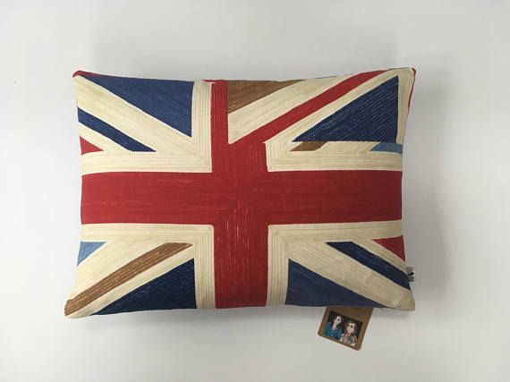 Two Ugly Sisters  Union Jack Cushions Flag Pillow Flag