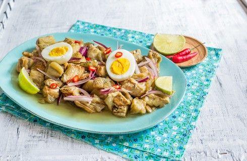 Insalata di melanzane arrostite  thai: Yam Makua Yao
