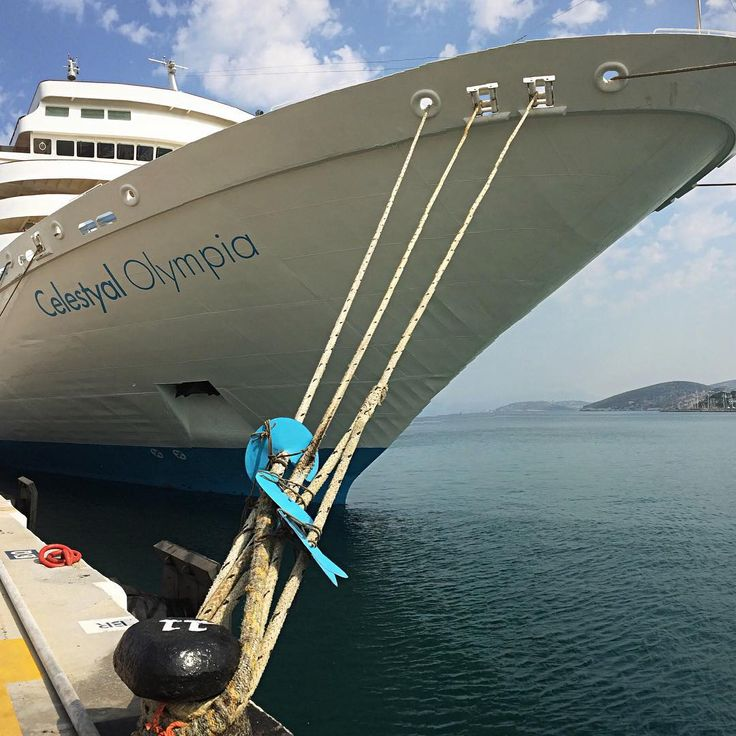 Grab hold of your next adventure with majestic Celestyal Olympia!  Photo by @shiptravel #Celestyalcruises #CelestyalOlympia #cruise #cruiseship #travel #travelphotography