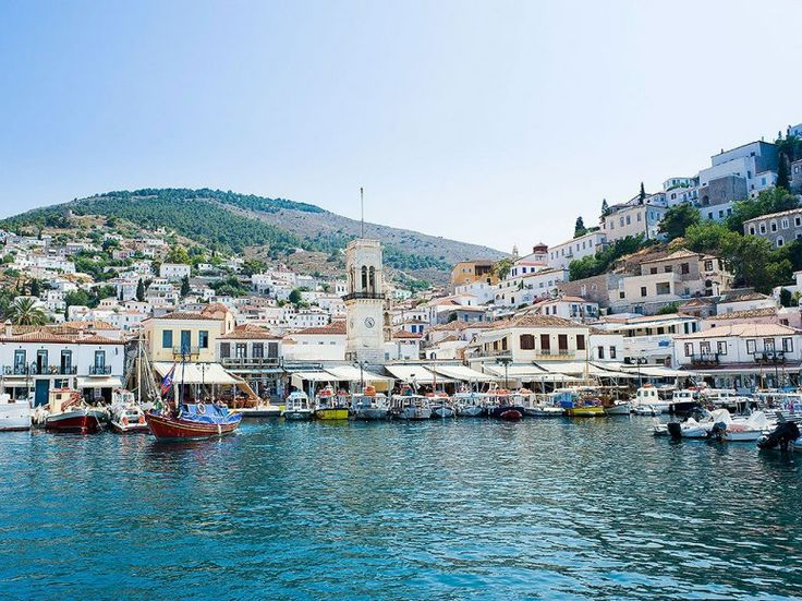 The Greek Island of Hydra. No cars, just donkeys and cobblestone roads. The 12 Top Scenic Islands in the World : Condé Nast Traveler