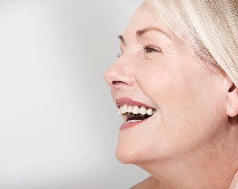 natural woman's face laughing - Google Search