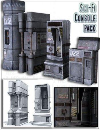 Sci-Fi Console pack