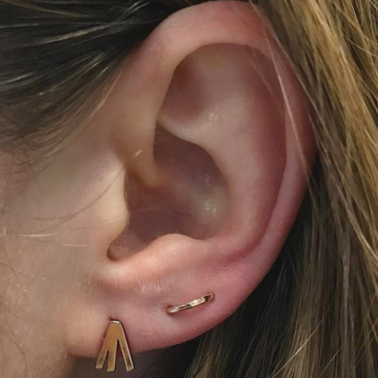 NYC Piercing Trends - Earrings Combinations Photos