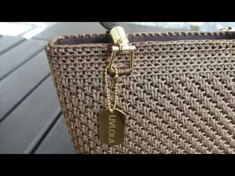 Lulla mini crochet tote | LIVLOLA – YouTube