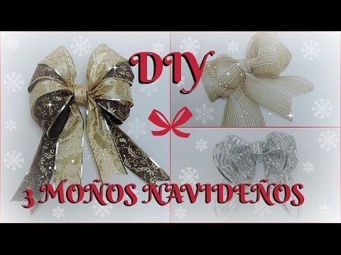 Especial de Navidad: Cómo hacer un lazo navideño DIY (Charla + tutorial) - KATHY GAMEZ - YouTube