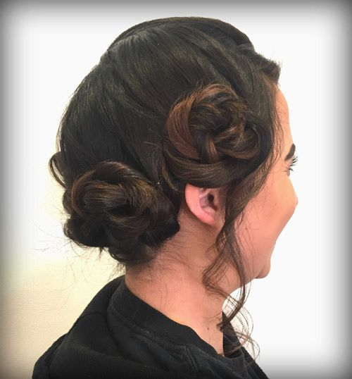 Holiday Hairstyles to try! Get the looks & be inspired by students at La' James International College ➳ http://ljic.edu/holiday-styles-need-try/