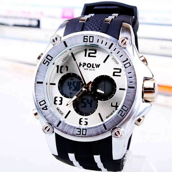 Силикагель двойной механизм спортивные часы большой набор спортивные часы 163547