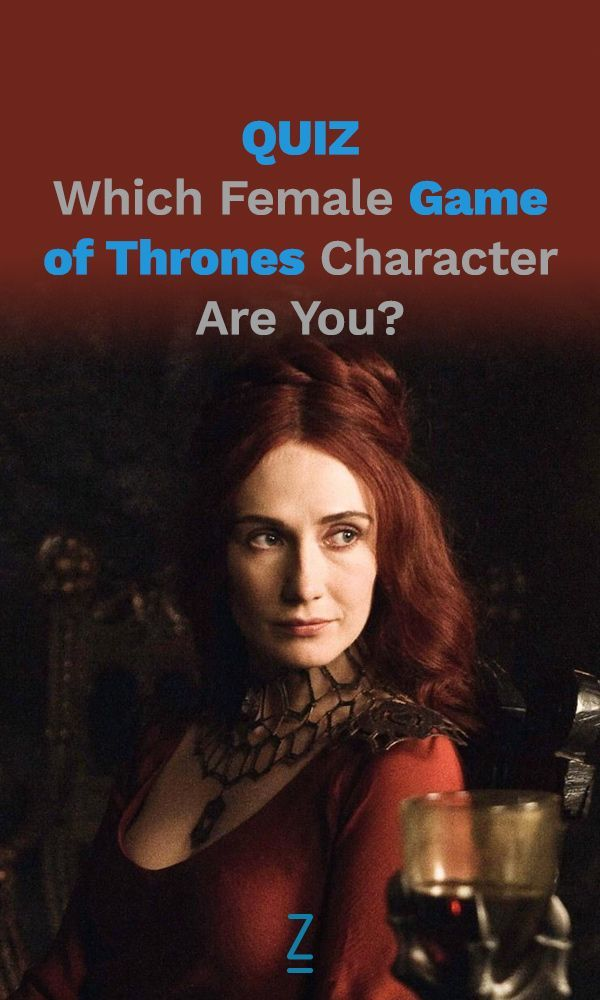 a game of thrones female characters