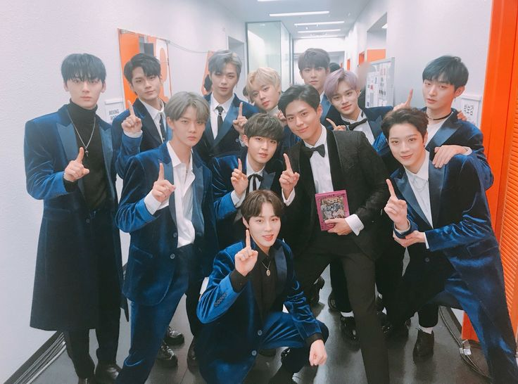Bogum with wannaone