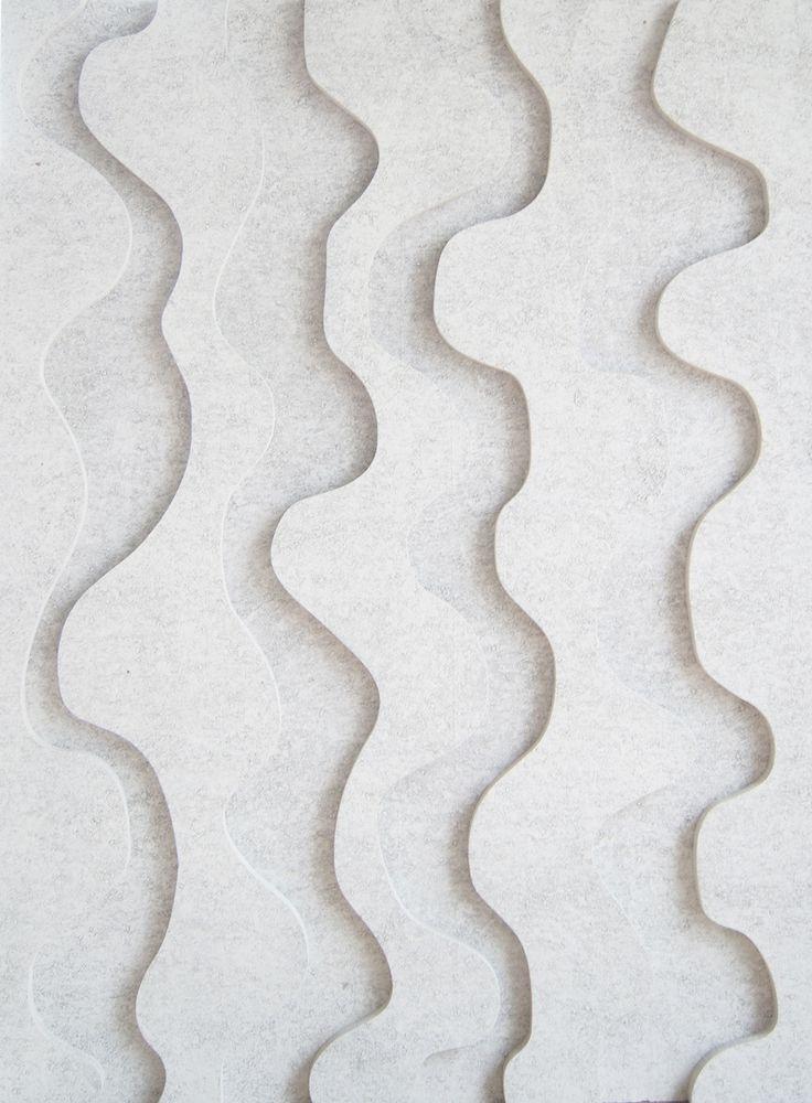 Papurino. Acoustic board. Uoma/ white Anna Tuomela & Elina Haverinen